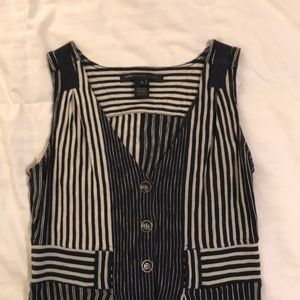 Marc by Marc Jacobs striped sleeveless dress